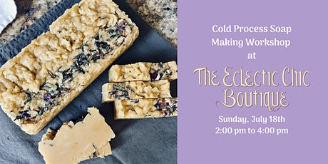 Cold Process Soap Making Workshop tickets