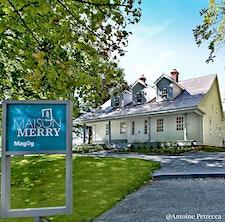 Maison Merry. Lieu de mémoire citoyen de Magog logo