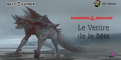 D&D5 - Le Ventre de la Bête - par Pyram billets