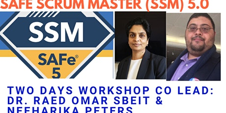 Virtual Session Only - North Texas Academy - SAFe Scrum Master 5.0 with Scaled Scrum Master (SSM) Certification (Online) tickets
