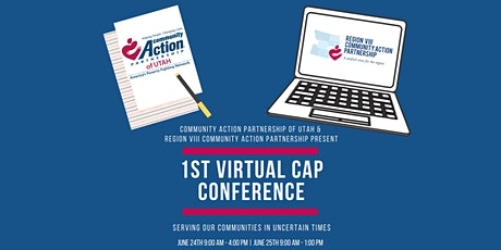 1st Virtual CAP Conference - Serving our Communities in Uncertain Times tickets