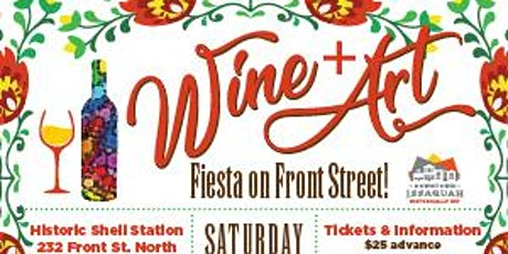 Downtown Issaquah Wine & Art Walk July 18 tickets