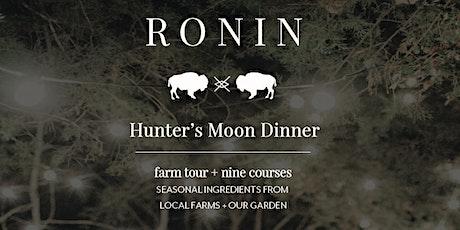 Hunter's Moon Dinner tickets