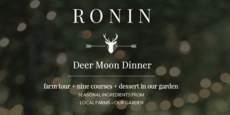 Deer Moon Dinner tickets