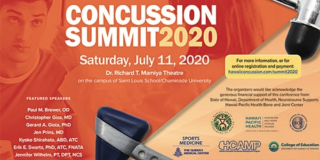 Hawaii Concussion Summit 2020---Student LATE  Registration  (LIVE STREAM) tickets