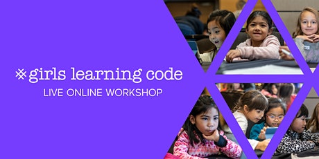 Girls Learning Code: Gamemaking with Scratch (For Ages Ages 9-12 + Guardian) - Virtual Room 07-CS tickets