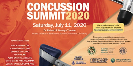 Hawaii Concussion Summit 2020---Physicians LATE Reg. (LIVE STREAMING) tickets