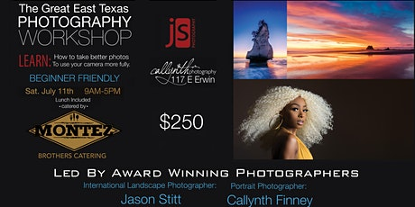 Great ETX Photography Workshop July 2020 tickets