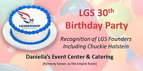 LGS Let's Get Social 30th Birthday Celebration tickets