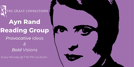 Ayn Rand Online Reading Group tickets