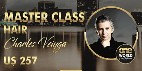Master class - Charles Veiyga -  Hair tickets