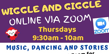 Online Wiggle and Giggle @ The Light Regional Council Library Service tickets