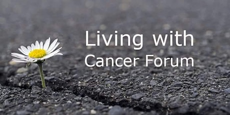 Living with Cancer Forum tickets