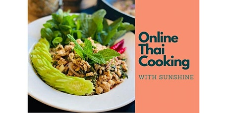 Online Thai Cooking Class: Thai Chicken Salad (Larb) w/ Sticky Rice (07-09-2020 starts at 6:30 PM) tickets