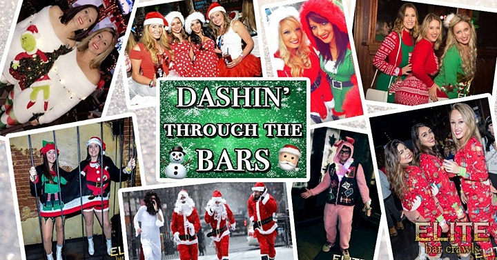 Dashin' Through The Bars Holiday Crawl | Raleigh, NC - Bar Crawl Live image