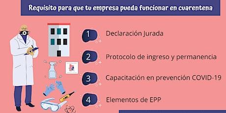 Confección de Protocolo para empresas bajo COVID- 19 entradas