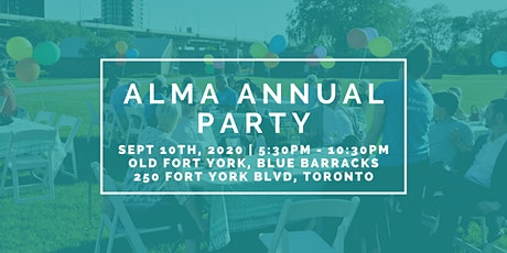 Alma Foundation Annual Party 2020 tickets