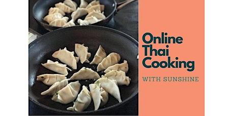 Online Thai Cooking Class:  Potsticker (Gyoza) (07-09-2020 starts at 12:00 PM) tickets