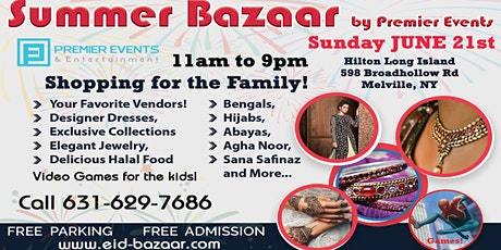 Summer Bazaar at the Hilton Long Island tickets