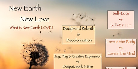 New Earth, New Love: Building Self Love tickets