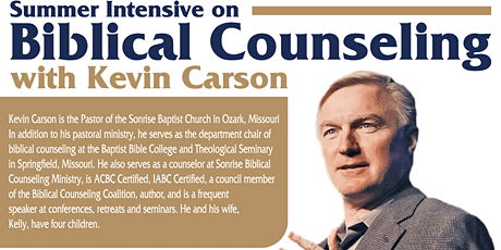 Biblical Counseling Intensive tickets
