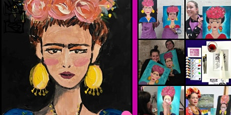 Paint Frida (Paint and Sip Online Class) tickets