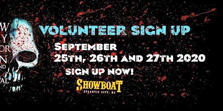 Volunteer Registration SEPTEMBER 2020 - New Jersey Horror Con and Film Festival tickets