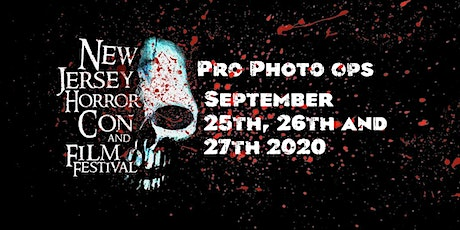 PRO PHOTO OPS NJ HORROR CON September 2020 tickets