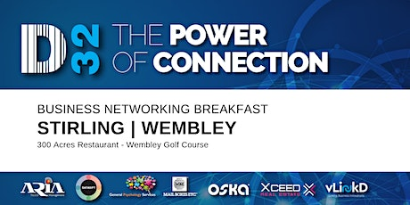 District32 Business Networking Perth – Stirling (Wembley) - Tue 04th Aug tickets