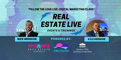 Webinar | Follow The Lead Live: Digital Marketing Class tickets