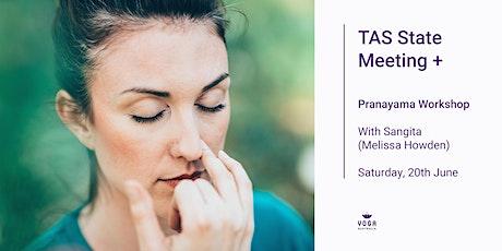 TAS State Meeting + Pranayama Workshop tickets