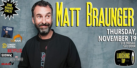 Matt Braunger at The Laughing Tap tickets