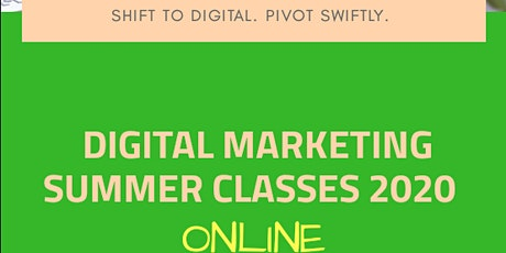 Digital Marketing Summer Classes Philippines 2020 ONLINE tickets