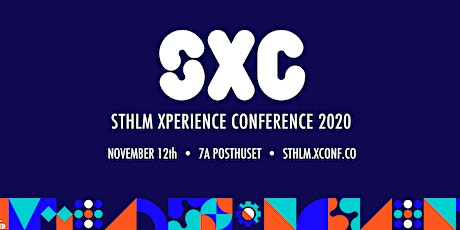 STHLM Xperience Conference 2020 tickets
