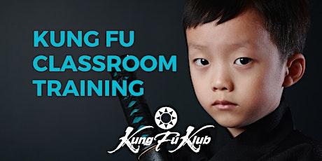 Wing Tsun Kung Fu - Online Training: Classroom tickets