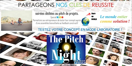 "Pitch Night Paris spécial ""KIDS"" billets"