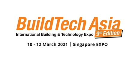 BuildTech Asia 2021 tickets