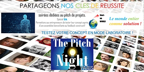"Pitch Night Paris spécial ""Intelligence Artificielle"" billets"