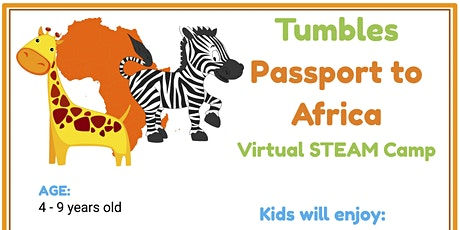 Passport to Africa: Virtual STEAM Camp tickets
