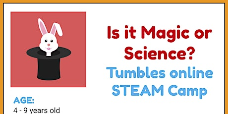 It's Magic!...or is it Science?: Virtual STEAM Camp tickets