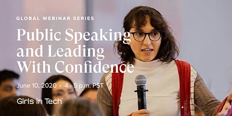 Webinar: Public Speaking and Leading With Confidence tickets