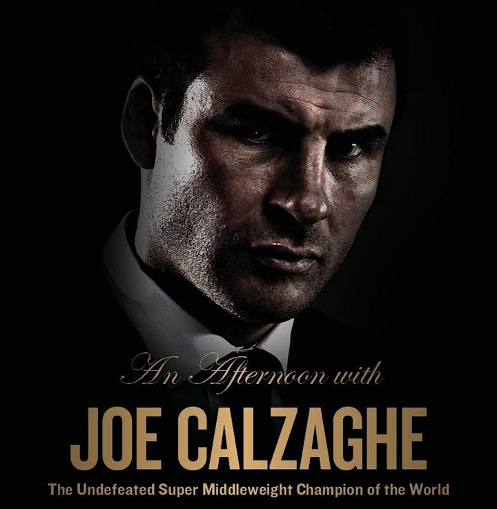 An Afternoon with Joe Calzaghe image