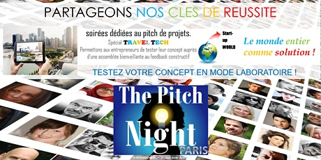 "Pitch Night Paris spécial ""Traveltech"" billets"