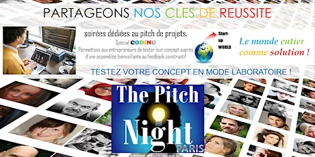 "Pitch Night Paris spécial ""Coding"" billets"