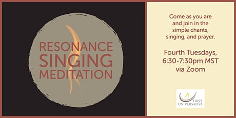 Singing Meditation tickets