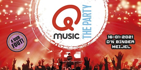Qmusic The Party 4 uur FOUT! Meijel tickets