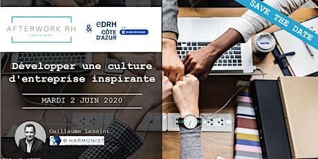 AfterWork RH Côte d'Azur - 2 juin 2020 - Développer une culture d'entreprise inspirante billets
