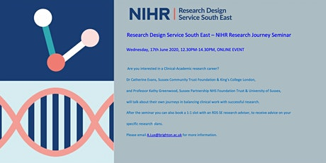 Research Design Service South East - NIHR Research Journey Seminar tickets