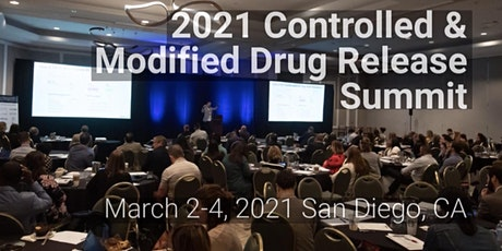 2021 Controlled & Modified Drug Release Summit tickets