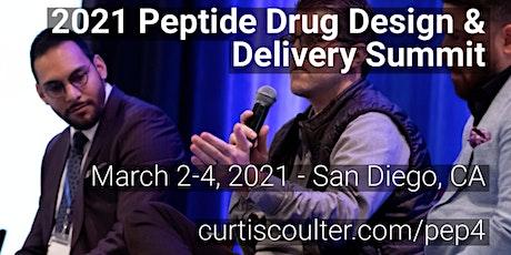 2021 Peptide Drug Design & Delivery Summit tickets